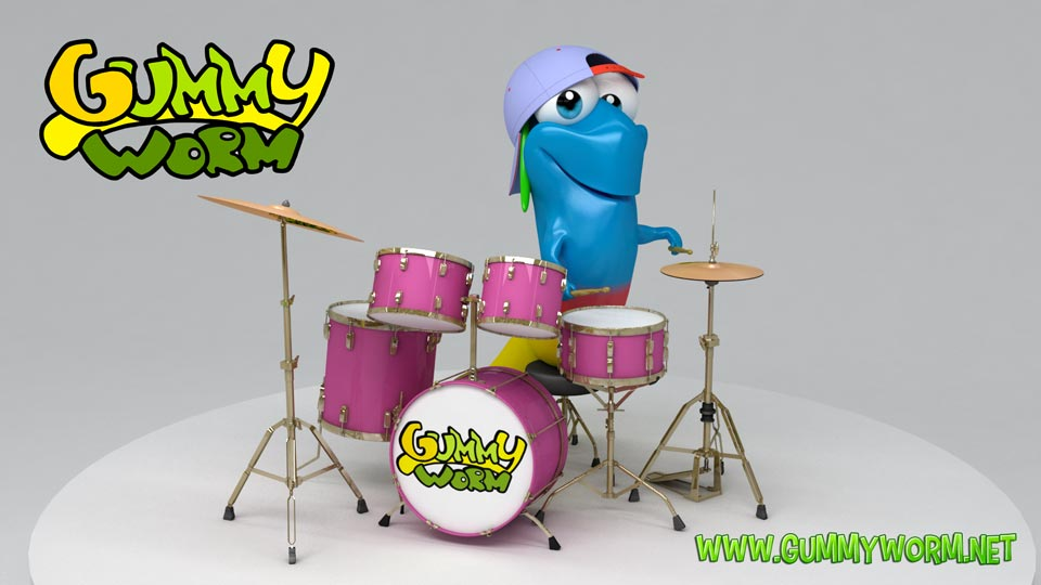 Gummy Ted the Drummer