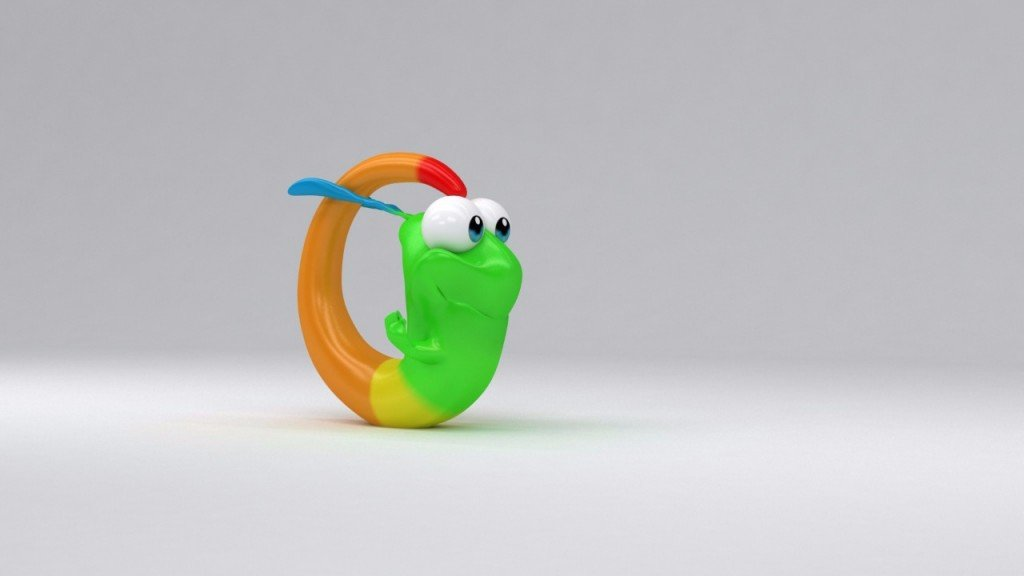 Gummy Worm Rolling