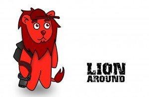 Lion Around - Gummy Worm friend