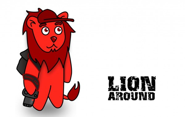Funny pics for kids – Lion Around