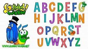 Abc kids - Learn ABC - Gummy Worm