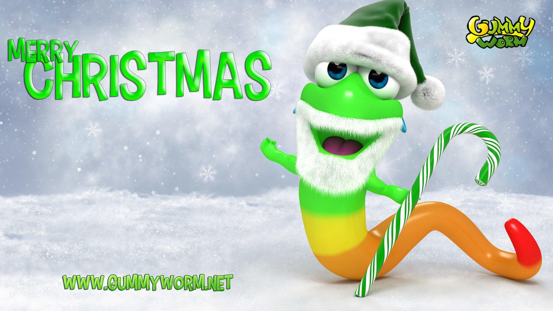 Gummy Santa - Gummy Worm