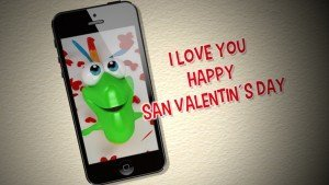 Gummy Falling Hearts - San Valentin´s day video