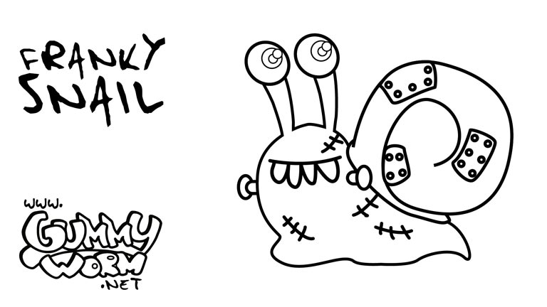 halloween-drawing-for-children-franky-snail-gummy-halloween