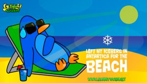 Left my Iceberg in Antartica - eCards for Kids