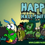 Gummy Worm All Friends  Halloween eCards