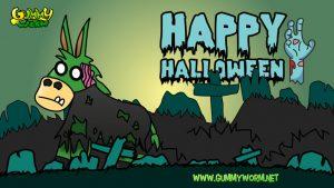 Gummy Worm Friends Halloween eCards -Boogie Burrito