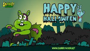 Go Go Gopher Gummy Worm Friends Halloween eCards