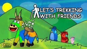 Let´s trekking with friends