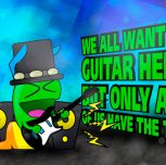 Be a Gummy Guitar Hero!
