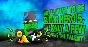 Be a Gummy Guitar Hero