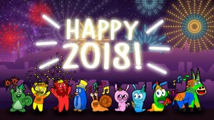 Happy New Year from Gummyland!