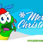 Merry Christmas – Gummy Worm